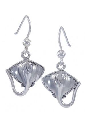 Stingray Hook Earring
