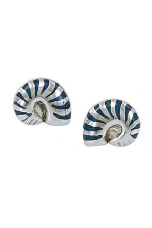 Nautilus Sheel Post Earring