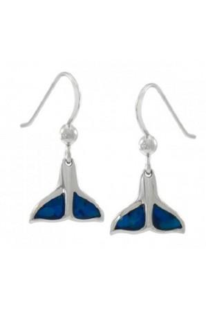 Whale Tail Hook Earring