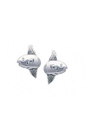 Large Sunfish Post Earring
