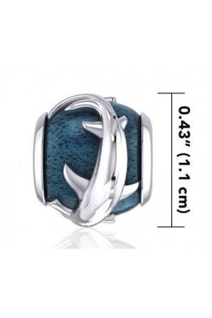 Abalorio Pulsera Tiburón Martillo Azul
