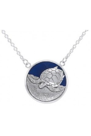 Medal Pendant with Turtle...