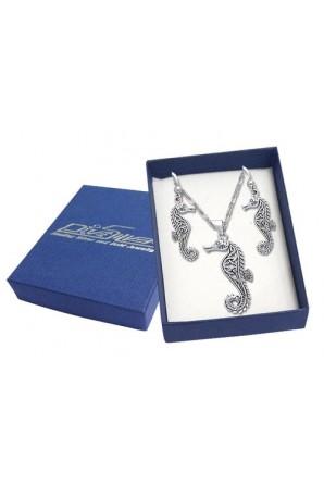 Celtic Seahorse Gift Box