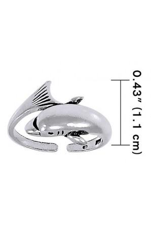 Anel de pé de golfinho