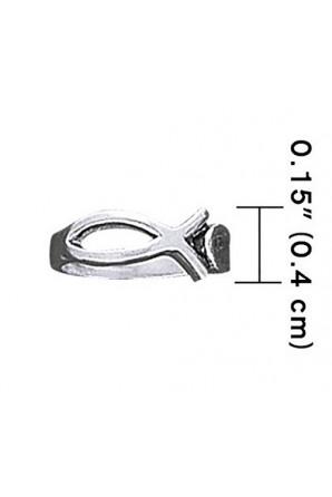 Fish toe ring