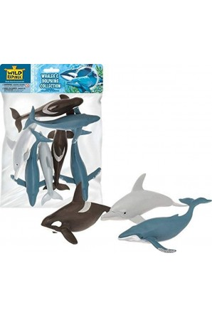 Polybag of Whale & Dolphin...