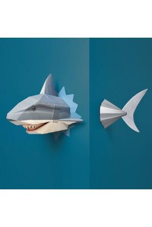 Crie seu próprio tubarão 3D