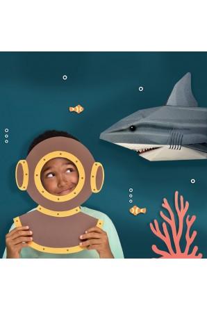 Crea il tuo squalo 3D