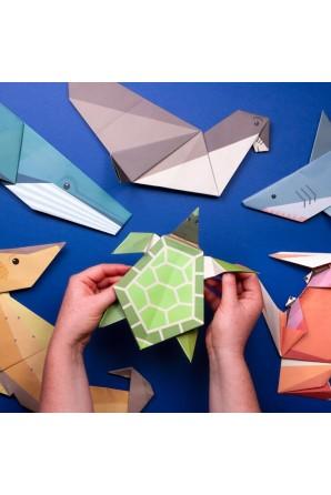 Crie seu próprio origami gigante do oceano