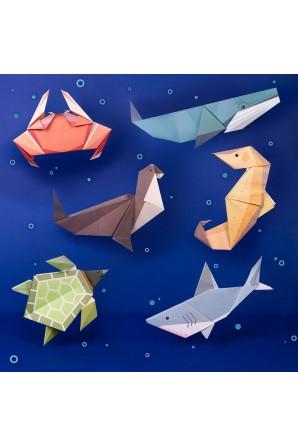Crie seu próprio origami...
