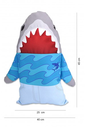 Travesseiro tubarão