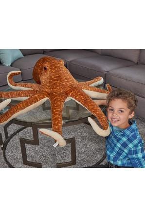 Peluche di polpo gigante