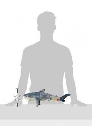 Peluche squalo pinna nera medio Medium