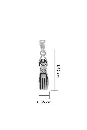 Small Fin Pendant
