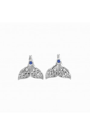 Celtic Whale Tail Silver...