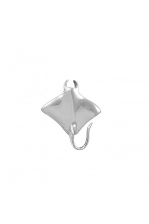 Sterling silver pin with...