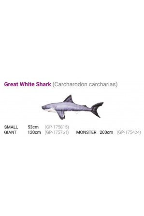 Almofada Tubarão Branco