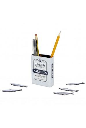 Porta-lápis magnético...