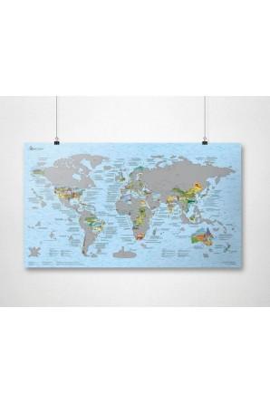 Landkartenkratzer und...